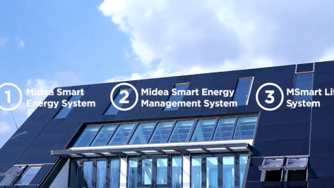 The latest Midea project. An intelligent house on a world-class level